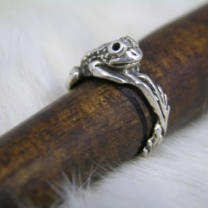 Leap Frog Sterling Silver Ring