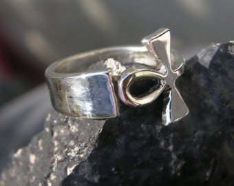 Egyptian Ankh Sterling Silver Ring