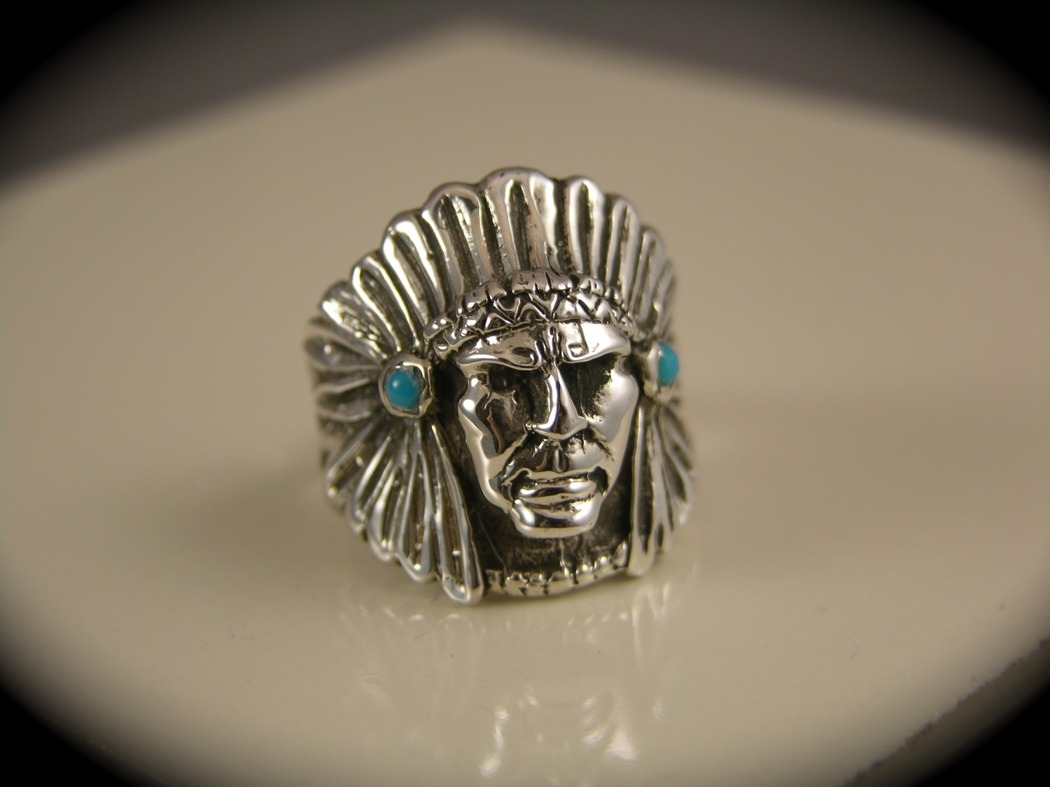 Sterling Silver American Indian Native