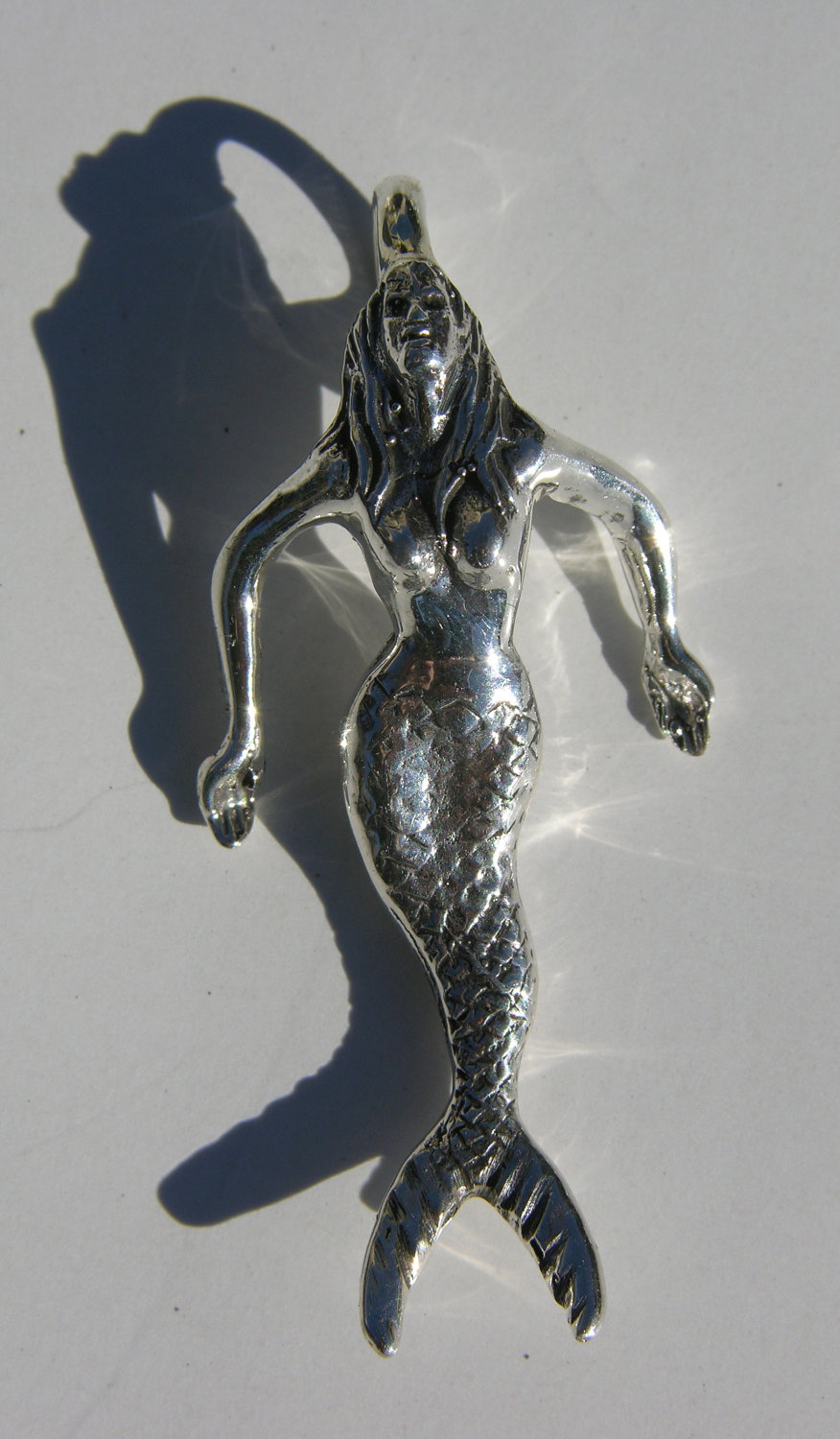 Sterling Silver Mermaid Pendant Freedom Jewelry Usa