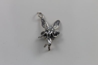 Sterling Silver Fairy Pendant Necklace