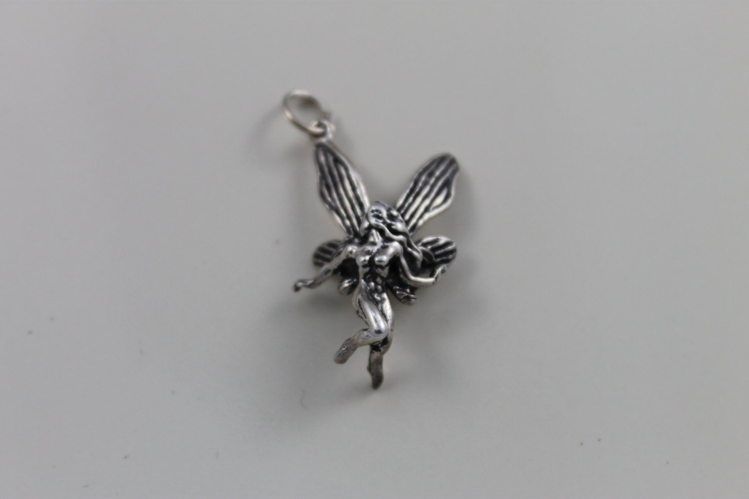 Sterling silver fairy pendant necklace freedom jewelry usa sterling silver fairy pendant necklace aloadofball Images