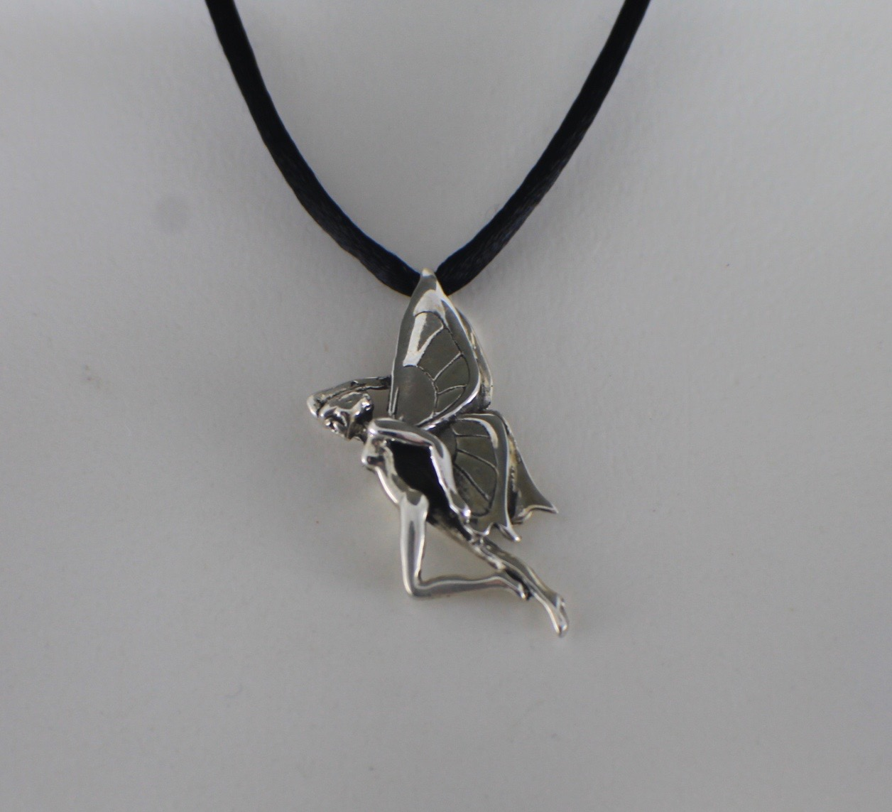 Sterling silver fairy pendant freedom jewelry usa sterling silver fairy pendant aloadofball Gallery